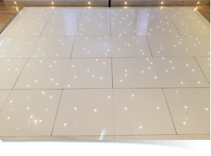 starlit dance floor hire