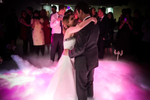dry ice for weddings and events