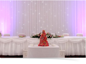 Starlit backdrop hire in Swindon