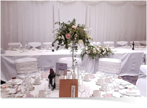 Wedding backdrop curtain hire Swindon